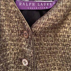 Ralph Lauren collection tweed dress